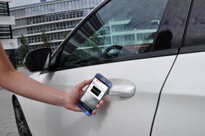 auto openen met je smartphone