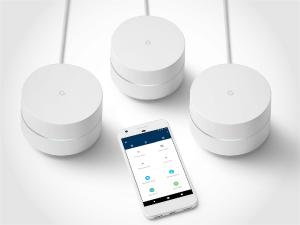 3 routers Google Wifi en app