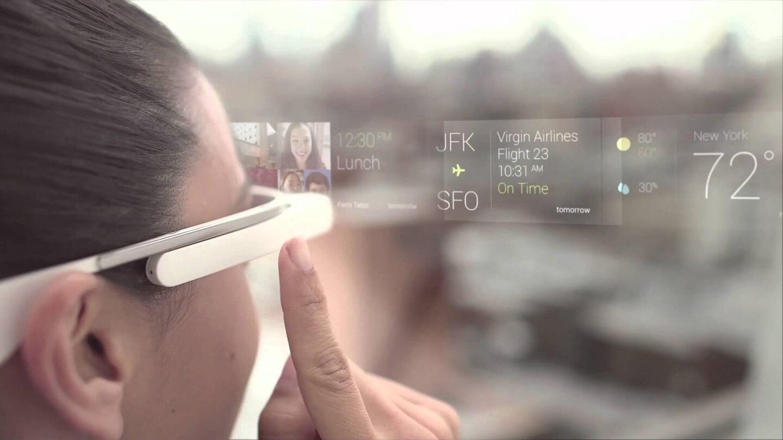Augemented Reality bij Google Glass