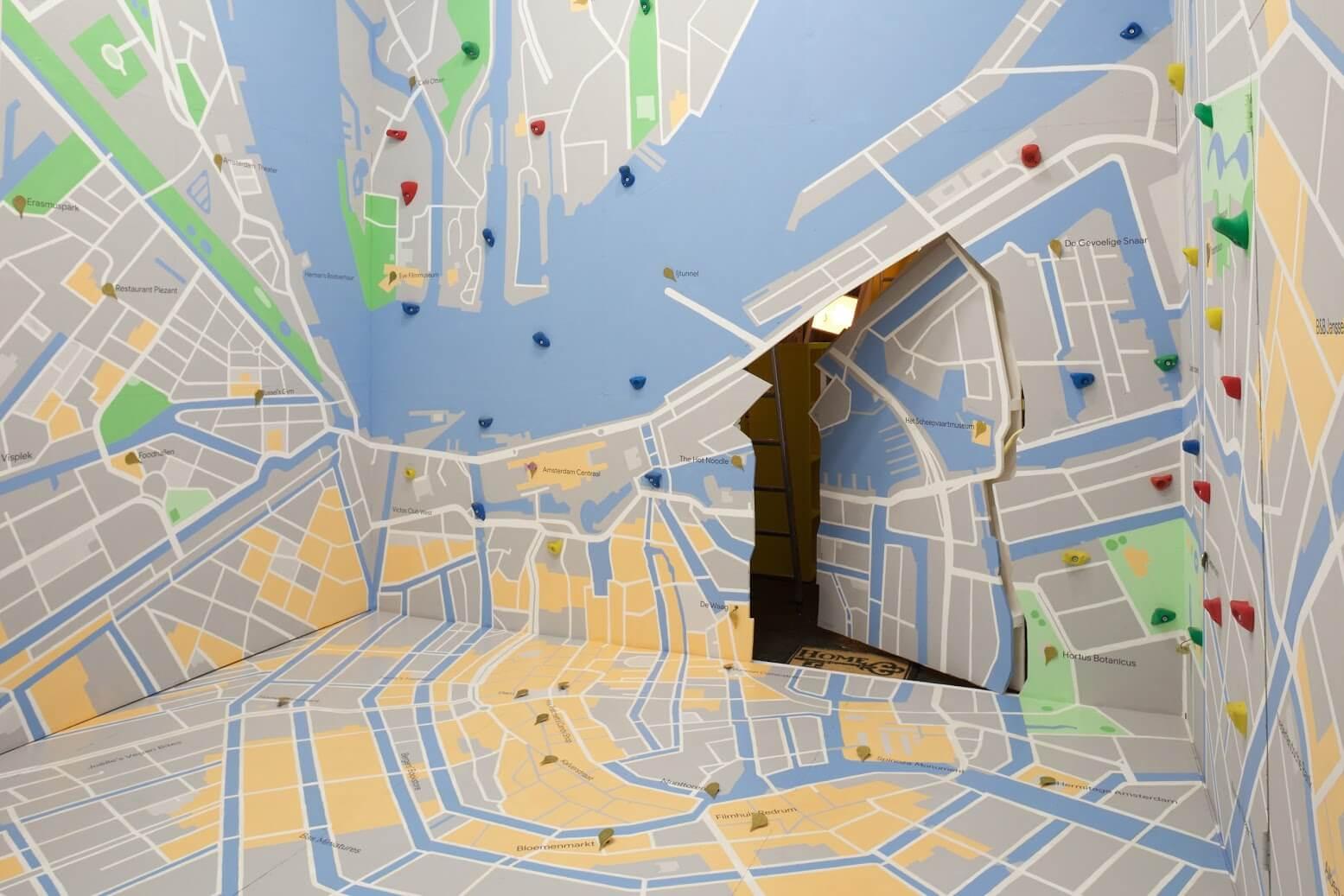 Google Backstage, Google Maps kamer