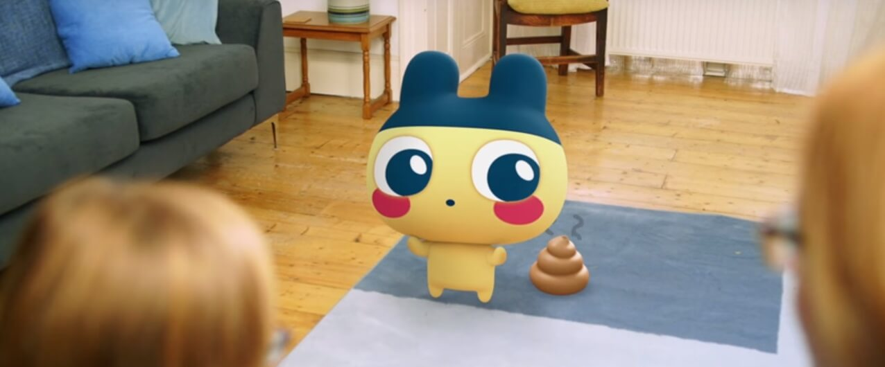 Tamagotchi poep