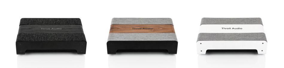 3 kleuren en stijlen Tivoli Audio Sub